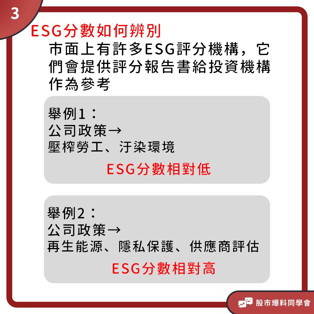 比起看報表,「ESG」更能看出一家公司的未來發展!