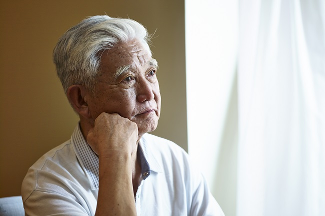 退休的老爺爺